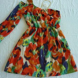 GB Gianni Bini cold shoulder dress sz S